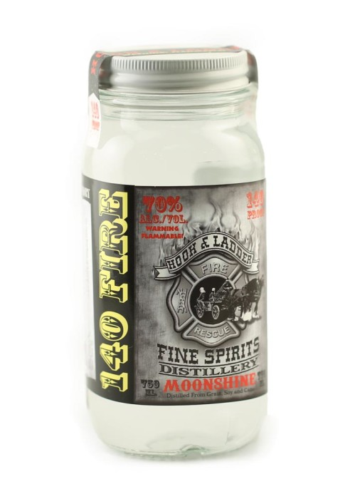 Enjoy our delicious 140 proof fire moonshine flavor!