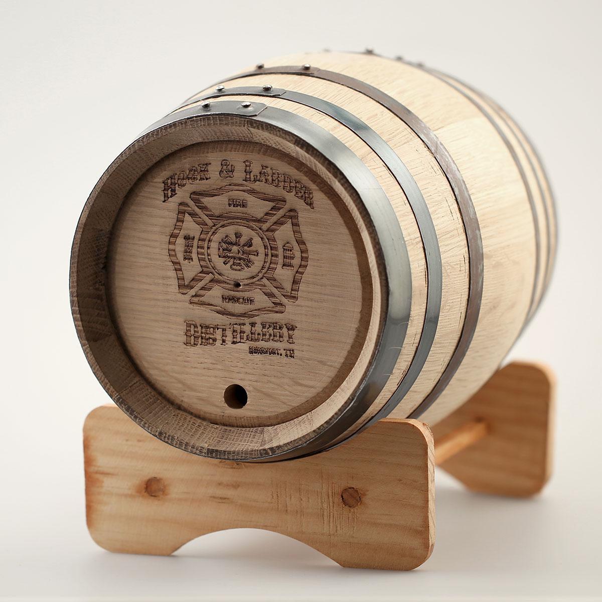 Moonshine Whiskey Barrel