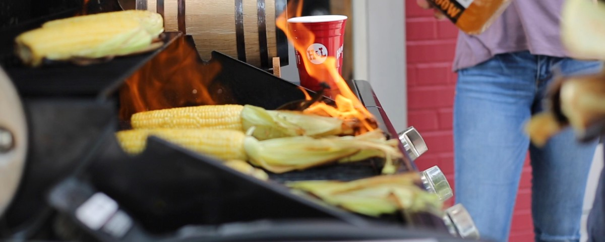 Whatch our video blog post featuring Honey Moonshine Corn